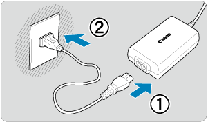 How to Charge Canon Camera with USB Cable
